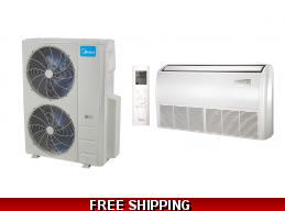 Midea 48000 BTU Mini Split Heat Pump AC Ductless Universal Mount